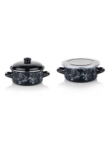 Schafer Pişir Sakla Tencere 18 Cm (80677) Siyah Siyah